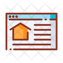 Software Real Estate Website Website Icon