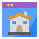 Website House Building Icon