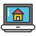 Online Website Home Icon