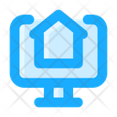 Website Online Shopping Monitor Icon