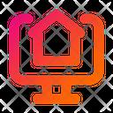 Real Estate Website Real Estate Online Property Icon