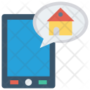 Online House Mobile Icon