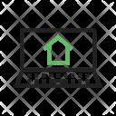 Estate Website Online Icon