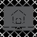 Website Online House Icon
