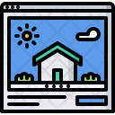 Site Building Architecture Icon