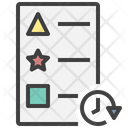 Real Time Updated List List Icon