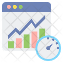 Real Time Quotes Chart Graph Icon