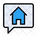 Realestate Message Message Property Icon
