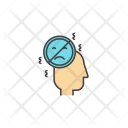 Realise Negative Thoughts Icon