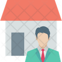House Owner Real Estate Renter Icon