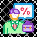 Realtor Profit Interest Icon