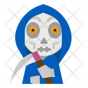 Reaper Skull Spooky Icon