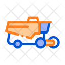 Reaping Harvester Vehicle Icon