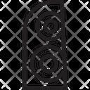 Rear Lights Icon
