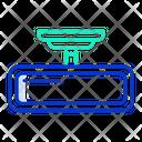 Rear View Mirror Icon