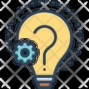 Reason Creativity Doubt Icon
