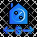 House Marketing Money Icon