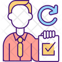 Reassigning Contract Items Icon