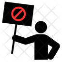 Rebel Protest Protester Icon