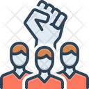 Rebel Insurgent Revolution Icon