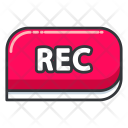 Rec Recording Icon