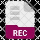 Rec file Icon