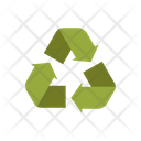 Reccycle Sign Recycle Ecological Sign Icon