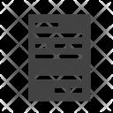 Receipt Atm Icon