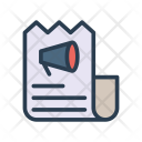 Receipt Sheet Document Icon