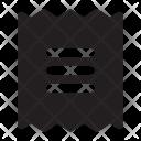 Receipt Icon