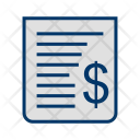 Receipt Bill Billing Icon