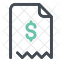 Dollar Bill Payment Icon