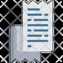 Receipt Finance Logistics Icon