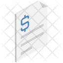 Logistics Delivery Document Icon