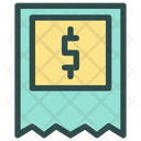 Receipt Delivery Shipping Icon