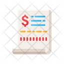 Payment Receipt Bill Payment Bill Icon