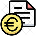 Business Financial Bill Icon