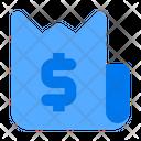 Dollar Withdrawal Bill Icon