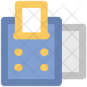 Receipt Machine Adding Icon