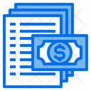 Bill Money Currency Icon
