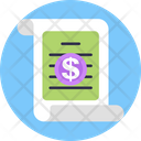 Cyber Monday Sale Receipt Icon