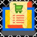 Receipt Bill Shopping Icon