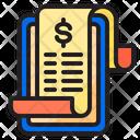 Receipt Bill Smartphone Icon