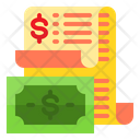 Receipt Bill Payment Icon
