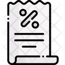 Receipt Invoice Payment Icon
