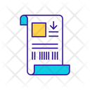 Receipt Order Package Icon