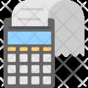 Receipt Calculator Icon