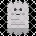 Receipt Face Icon