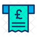 Pound Receipt Pay Icon