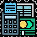 Receipt Report Receipt Value Icon